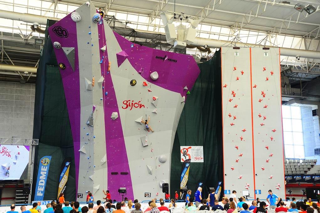 Mur-de-compétition_Championnats-du-Monde-IFSC-2014_Gijon_Espagne